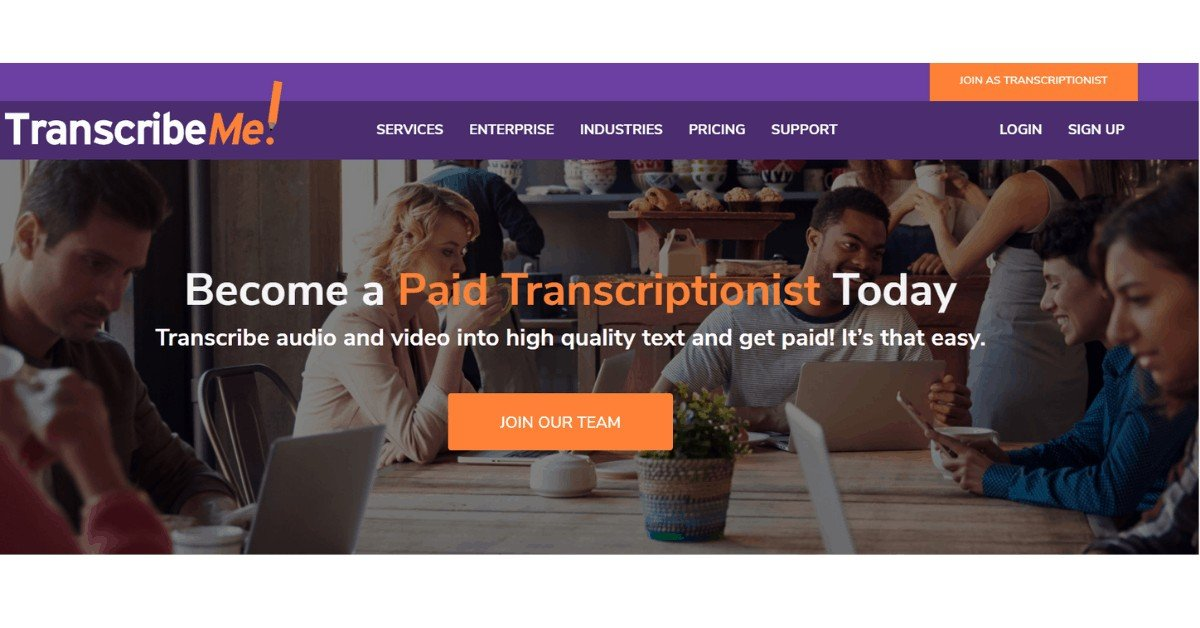 Transcribe Me- Where to Find Transcriptionist jobs
