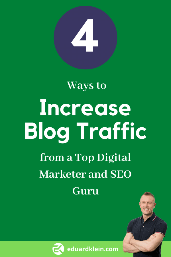 4 Ways Increase Blog Traffic