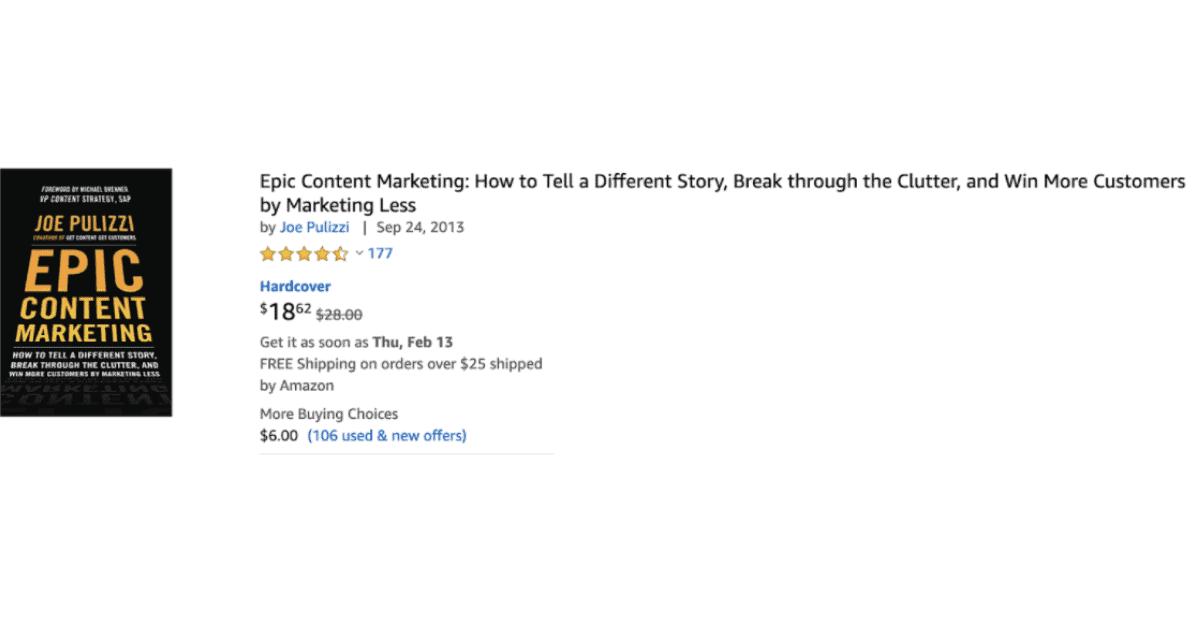 Amazon - Books