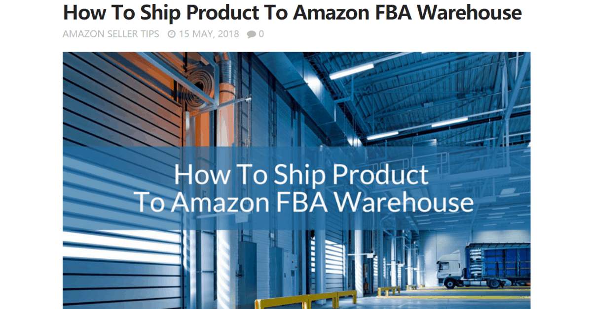 Amazon - Magazzini FBA