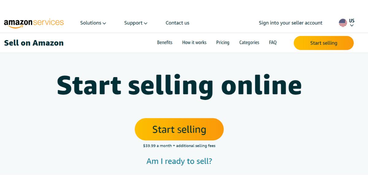Amazon - Sell Online