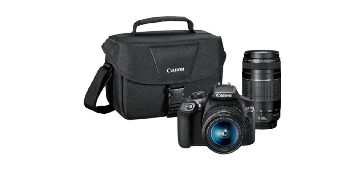 Camera for Vlogging - Canon EOS T6 SLR
