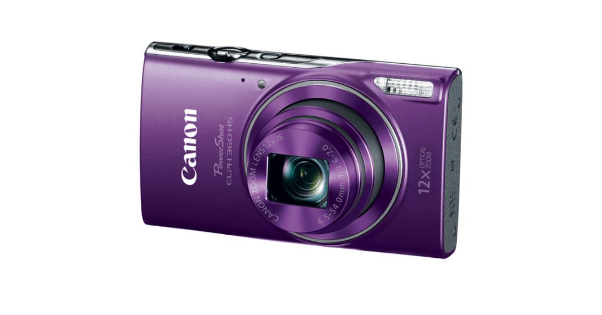 Canon PowerShot ELPH 360 HS - Cheaper Vlogging Camera