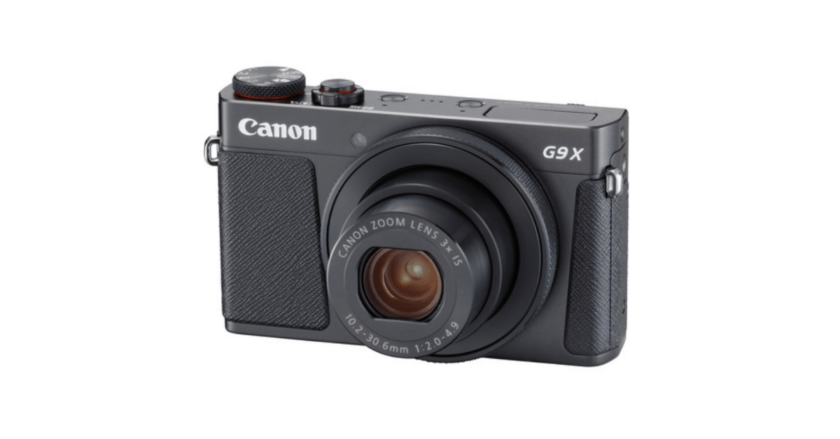 Canon PowerShot G9 X Mark II - Vlogging Camera