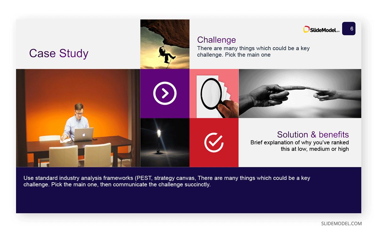 Case study slide
