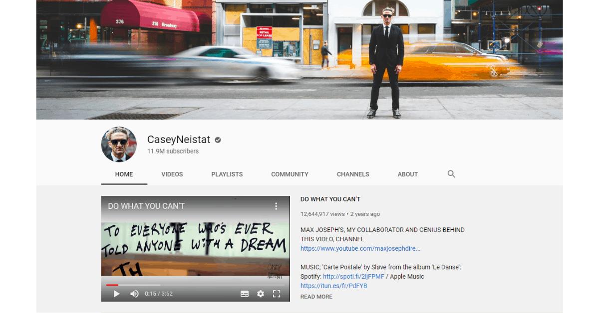 Casey Neistat - Youtube