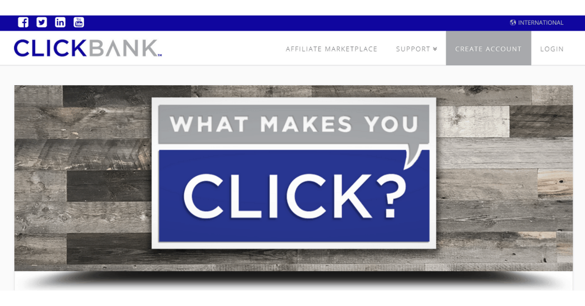 Clickbank - Become an Affiliate Marketer