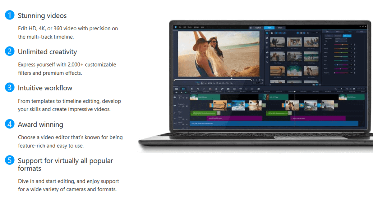 Corel Video Studio Ultimate - Best Video Editing Software