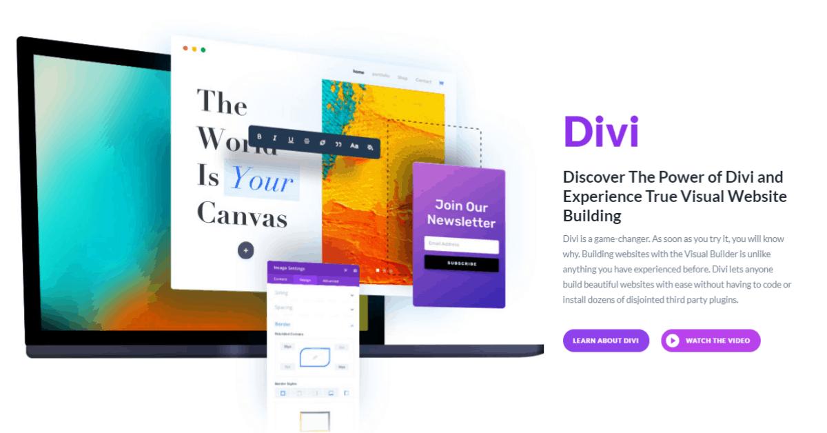 Divi - Premium WordPress Theme