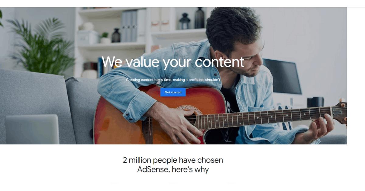 Google Adsense - Site Advertising
