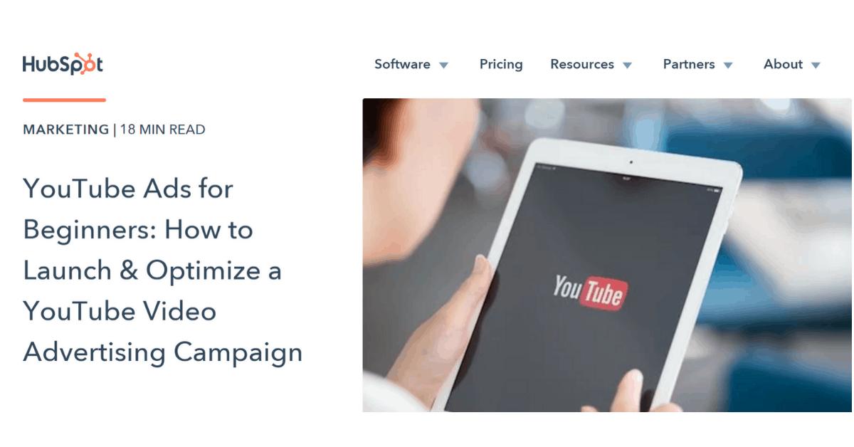 HubSpot - Beginner's Youtube Ads