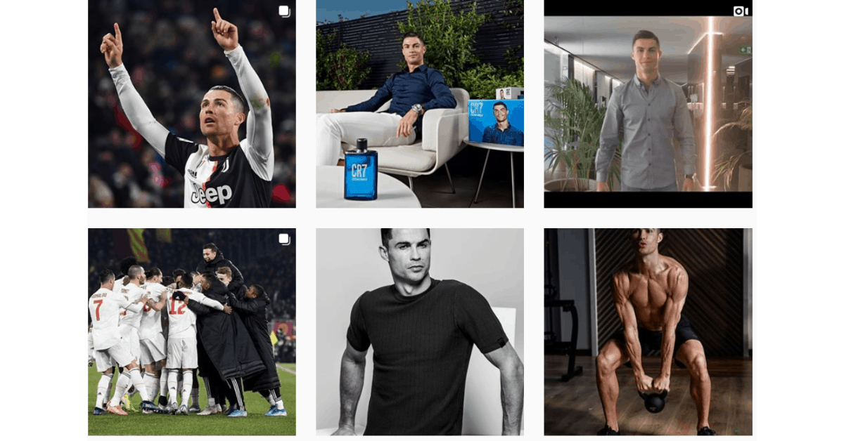 Instagram - Cristiano