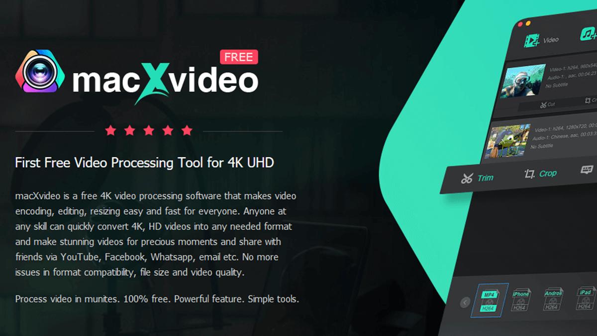 MacXvideo - Video Editing Software