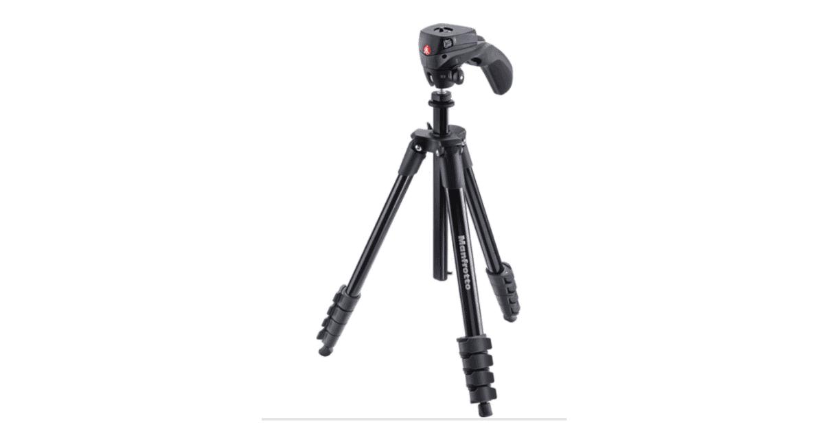 Manfrotto Compact Action Tripod - Vlogging Tripod