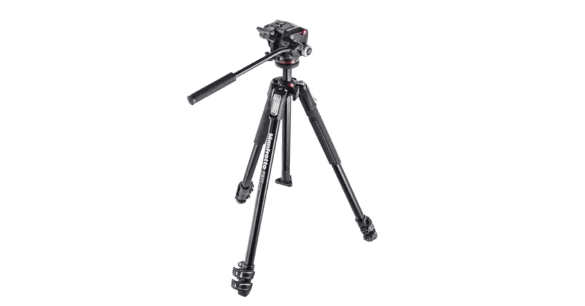 Manfrotto Tripod Kit MHXPRO-2W Fluid Head - Tripod for Vlogging
