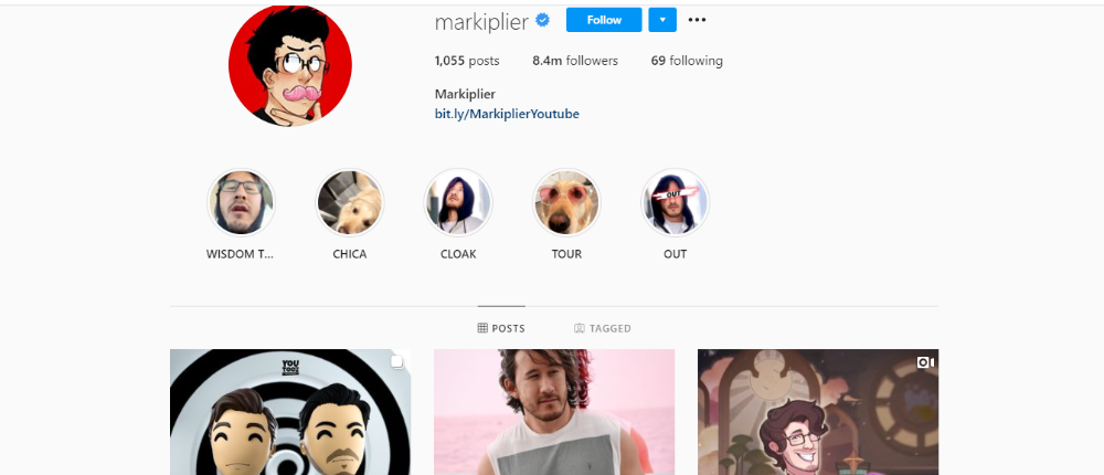 Markiplier Instagram