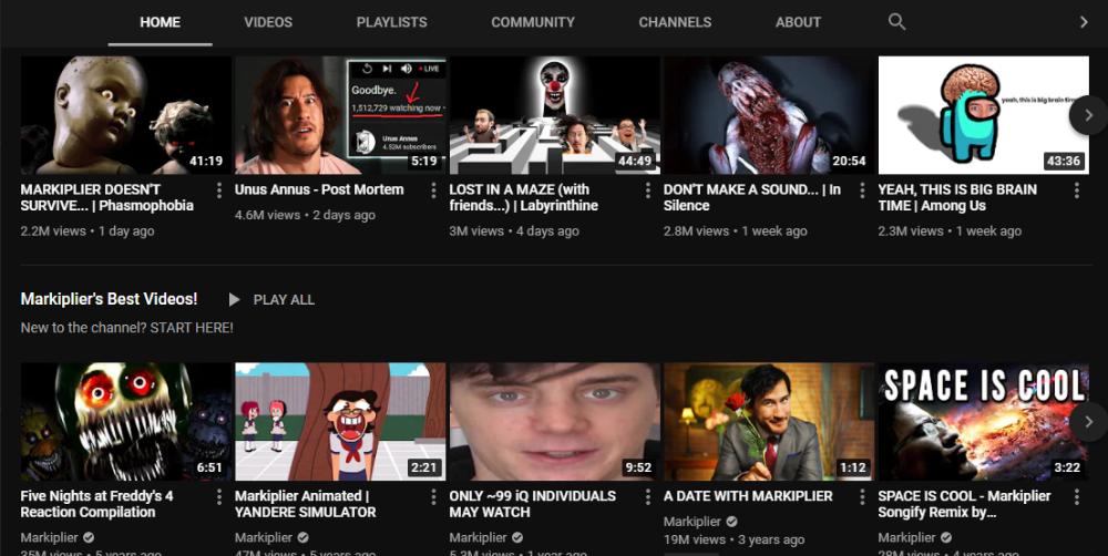 Markiplier YouTube 2