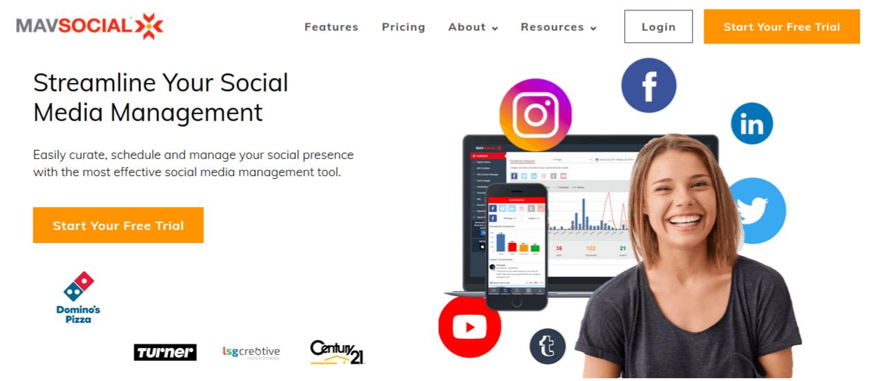 MavSocial Screenshot
