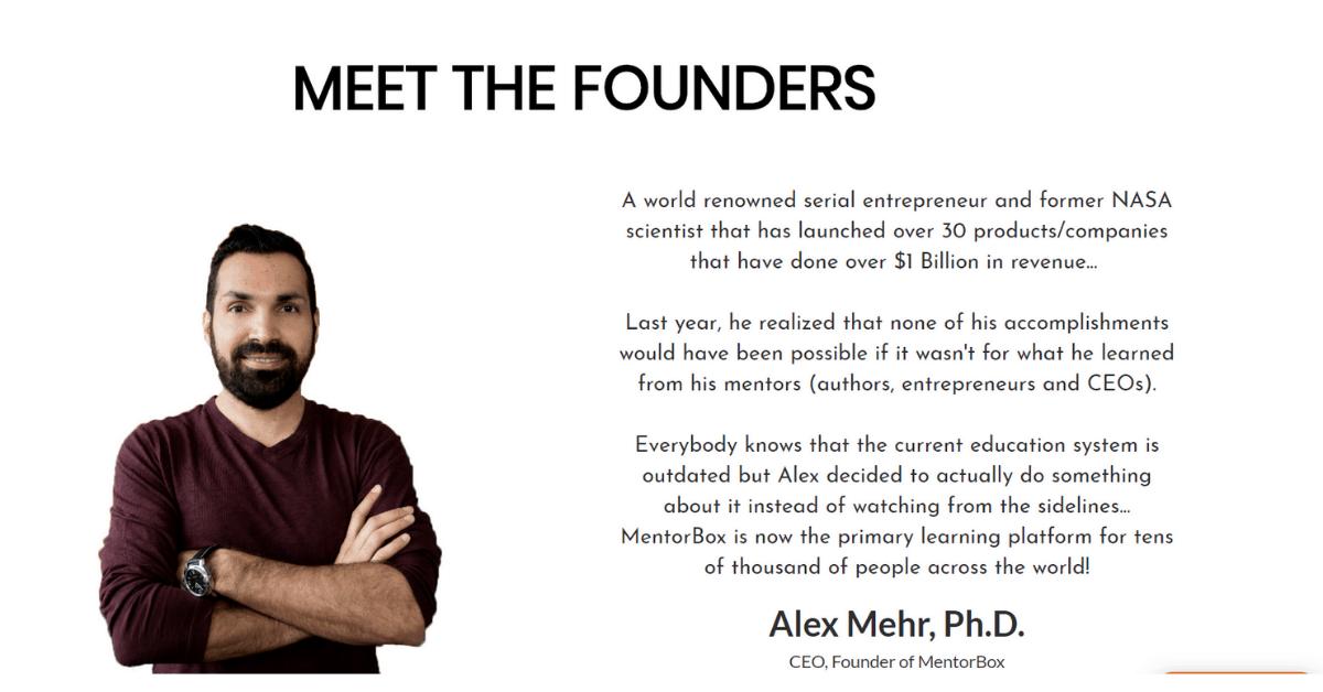 Mentorbox - Alex Mehr