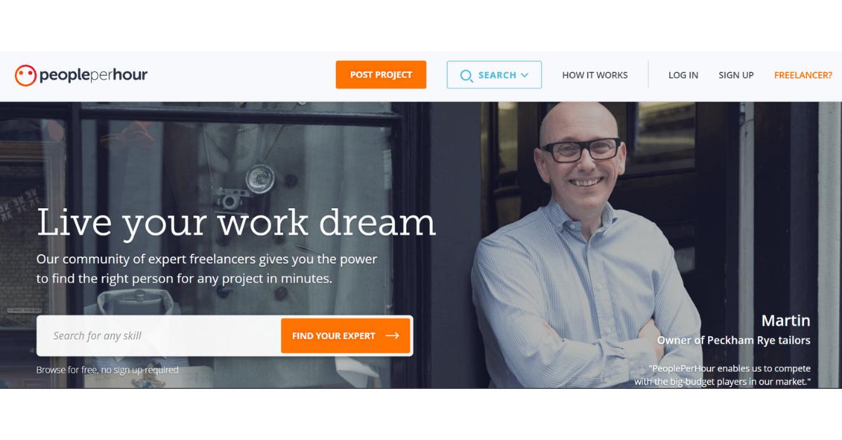 PeoplePerHour - Community of Expert Freelancers