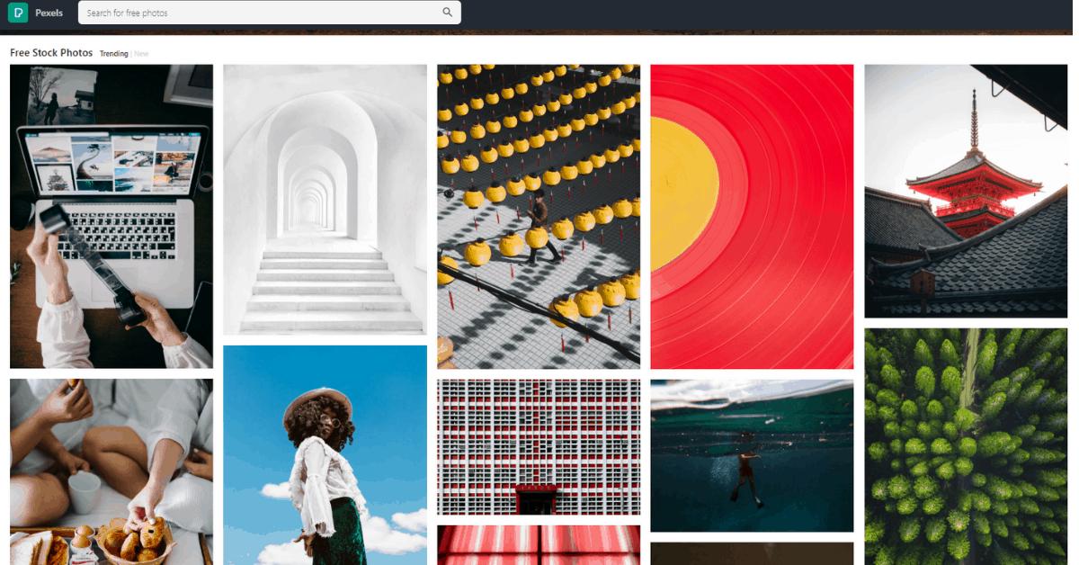 Pexels - Free Photos Website
