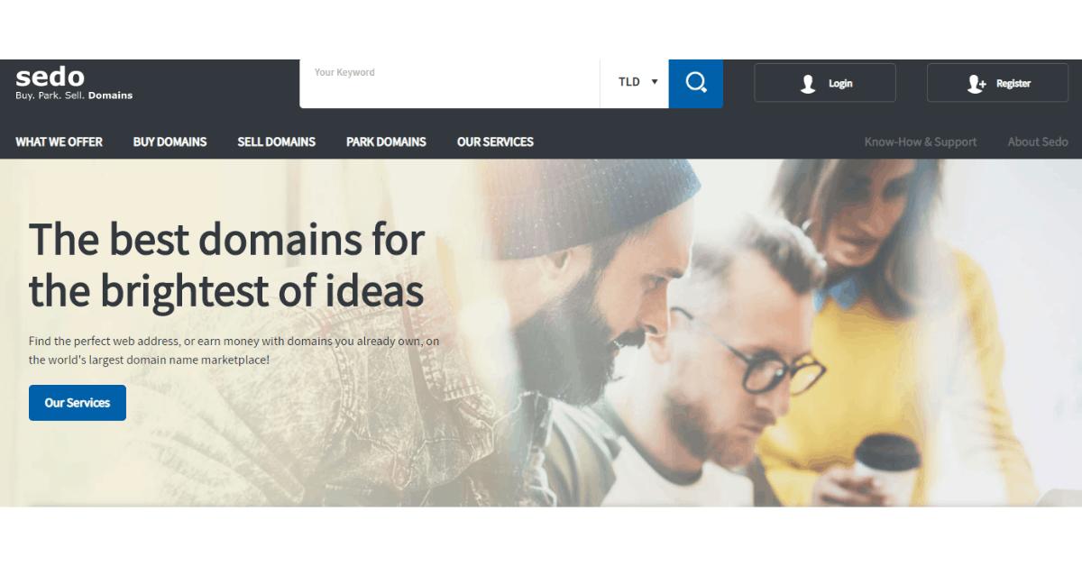 Sedo - Premium Domain Platform
