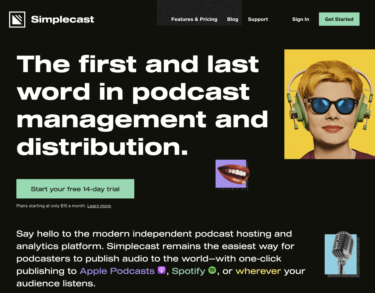 Simplecast Podcast Hosting