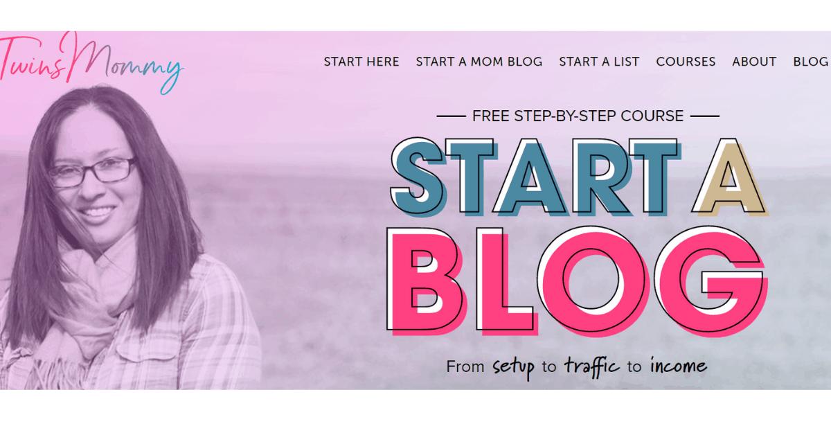 Start A Blog - Twins Mommy