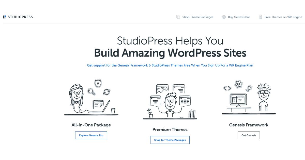 StudioPress - Premium WordPress Theme