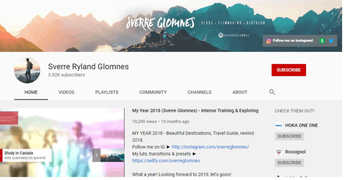 Sverre Ryland Glomne - Video Selling