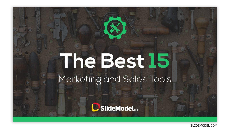 Tools slide template