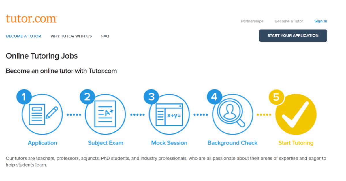 Tutor.com - Tutor online