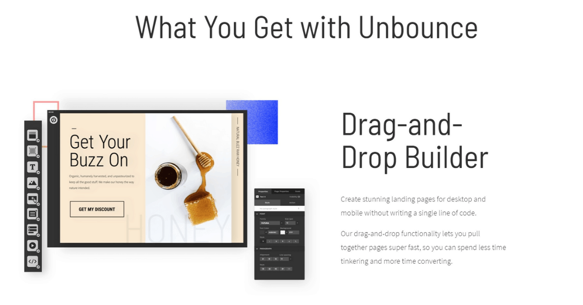 Unbounce - Create Unique Landing Page