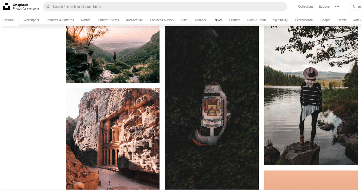 Unsplash - Free Photography Website