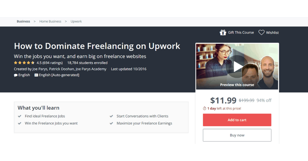 Upwork - Dominate Freelancing