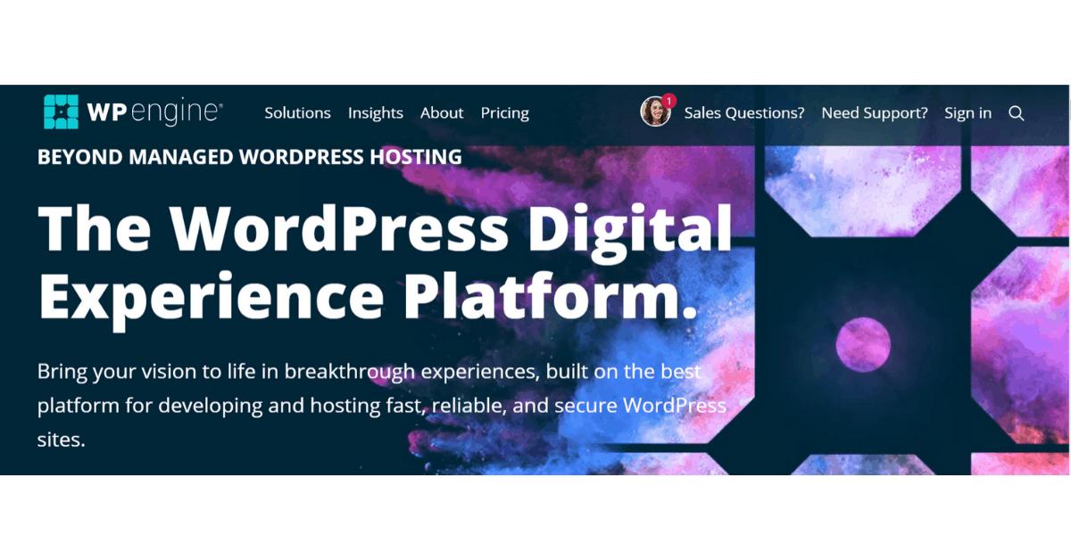 WPEngine - WordPress Hosting
