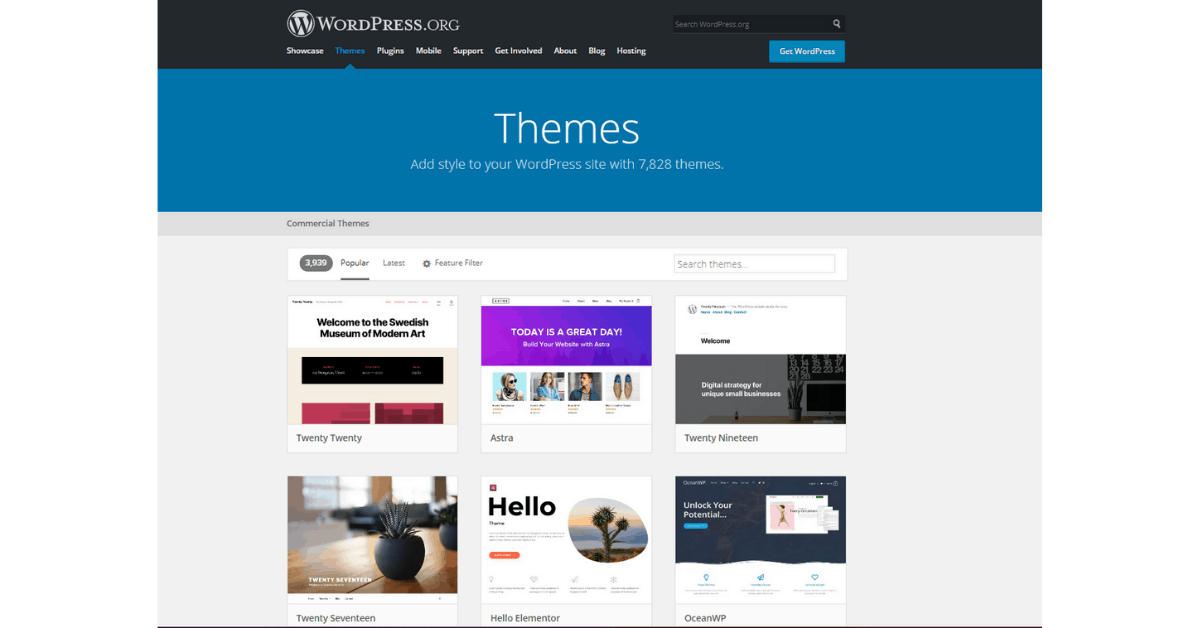 WordPress - Blog Post