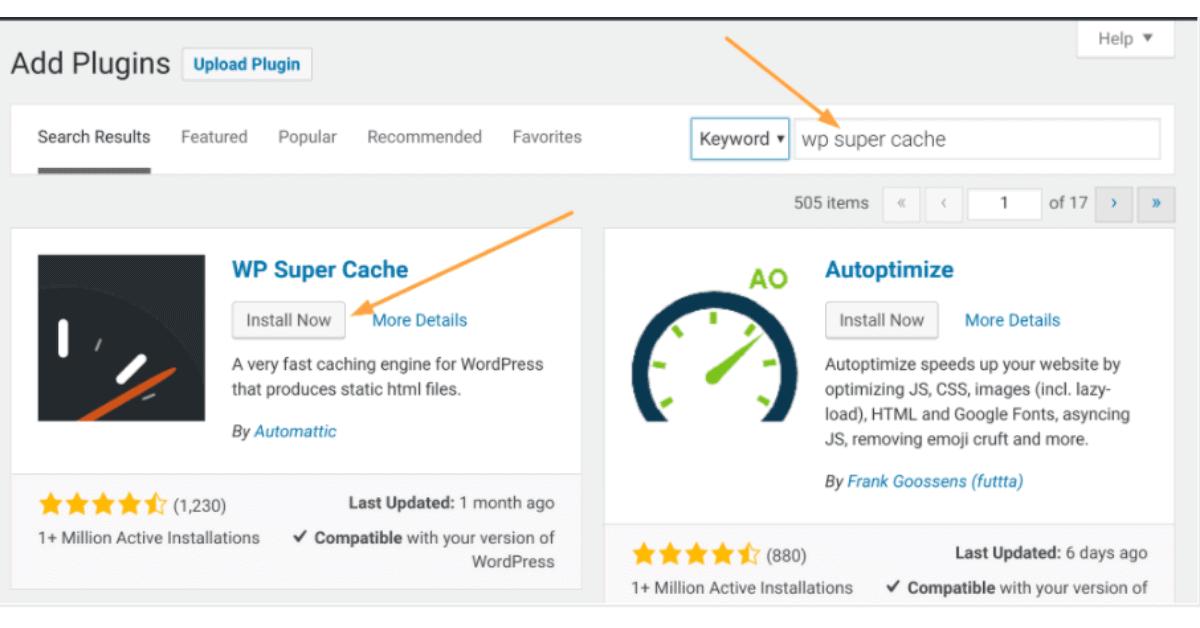 WordPress - Plugins Installation Option 2