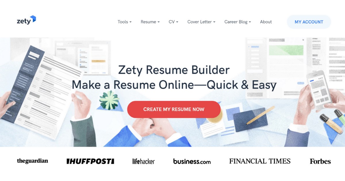 Zety - Resume Builder