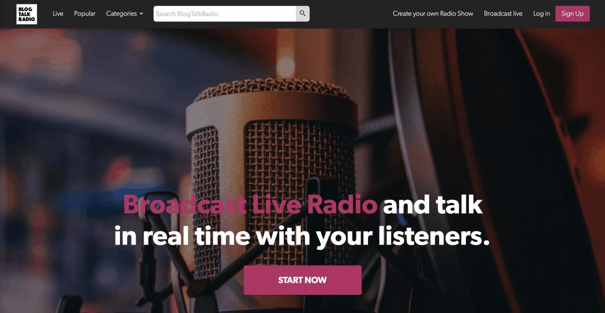 Blogtalkradio Podcast Hosting