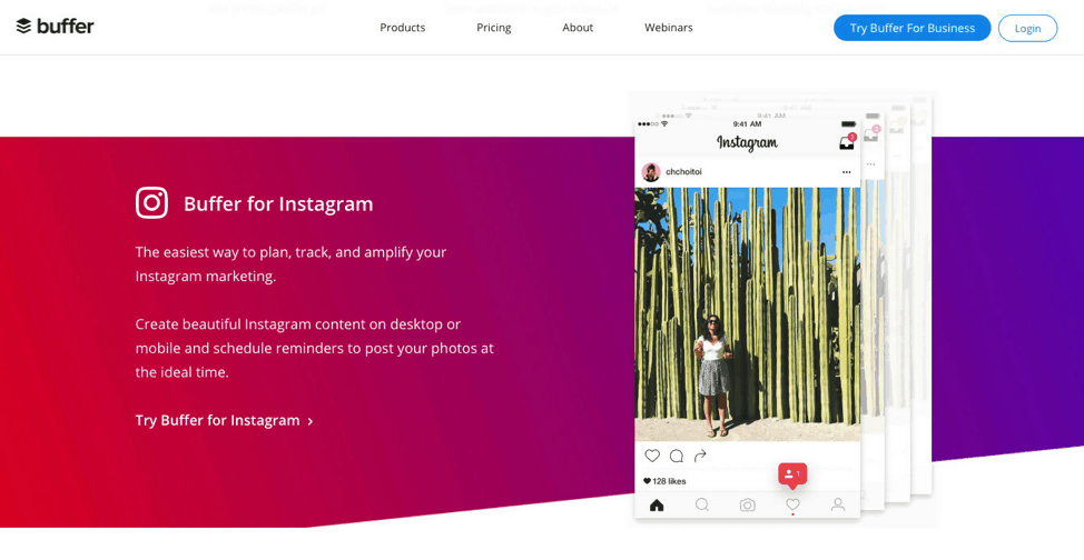 Buffer Instagram Tool