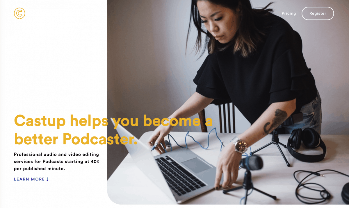 Castup Podcast Editing Services