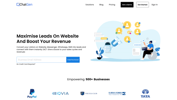 Chatgen Homepage