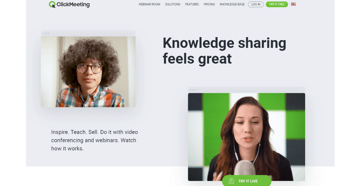 ClickMeeting - Video Conferencing Software for Education