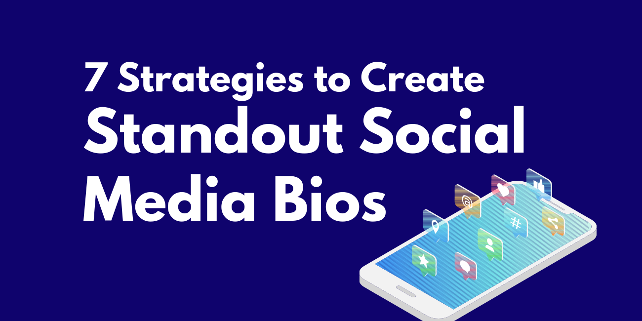 Create social media bios