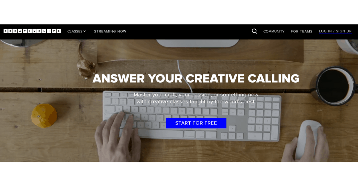 Creativelive - Master your Craft with Creative Classes