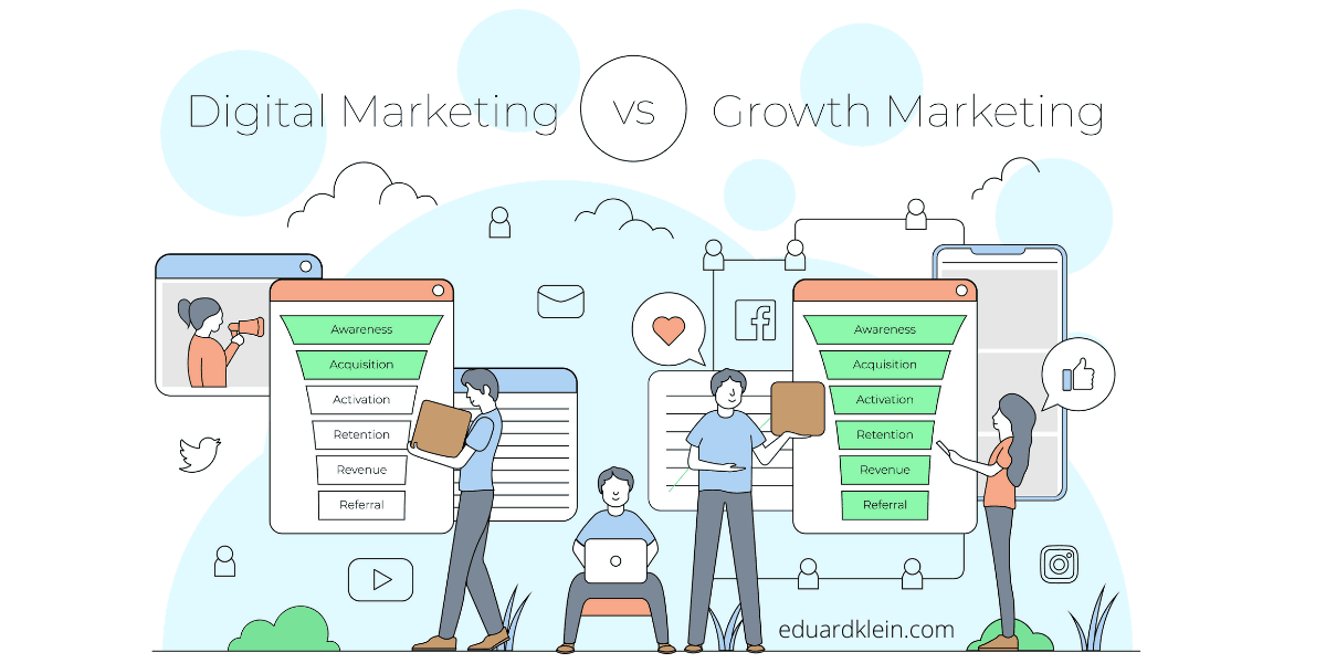Digital Marketing vs. Growth Marketing