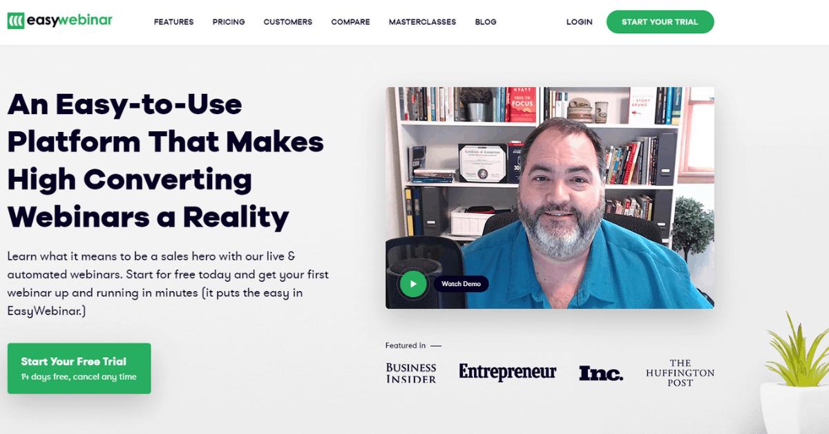 EasyWebinar - Easy to Use Platform