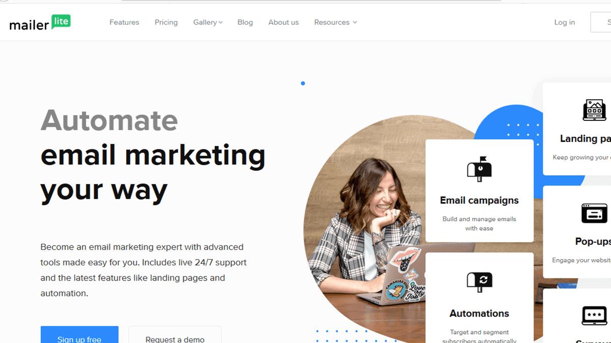 Mailer Lite Email Marketing