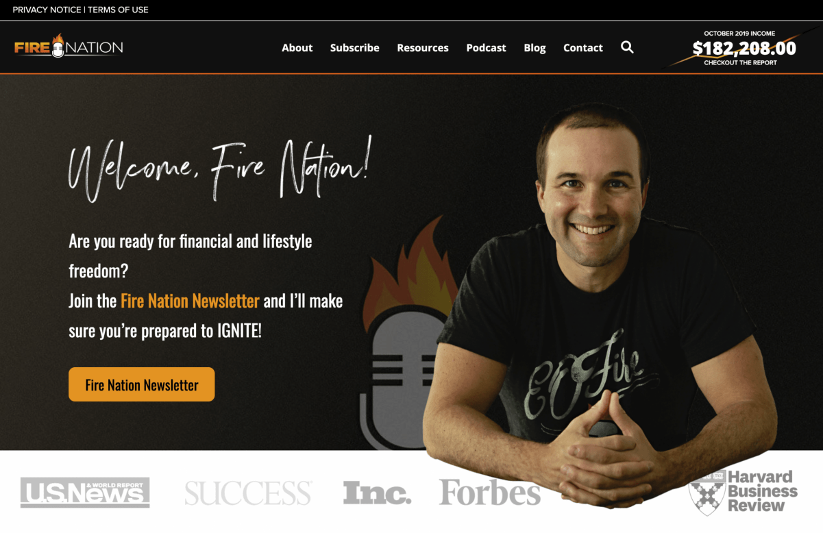 Entrepreneurs Podcaster on Fire